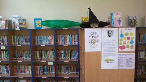 Roald Dahl day.  The Enormous crocodile and The Witches