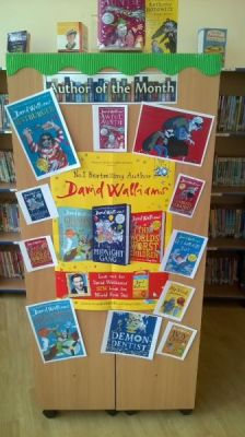 Author of the month and World book day March 2017
